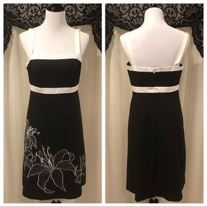 NWT Ann Taylor Factory Embroidered Dress Size 10